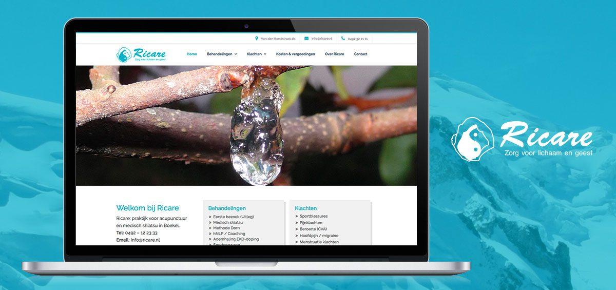 Nieuwe website online Ricare